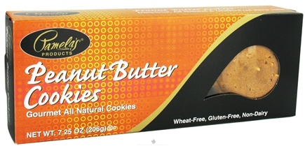 DROPPED: Pamela's Products - Gourmet All Natural Cookies Gluten Free Peanut Butter - 7.25 oz.