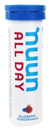 DROPPED: Nuun - All Day Hydration Vitamin Enhanced Drink Tabs Blueberry Pomegranate - 15 Tablets