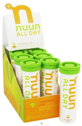 DROPPED: Nuun - All Day Hydration Vitamin Enhanced Drink Tabs Tangerine Lime - 15 Tablets