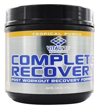 Vitalyte - Complete Recovery Post Workout Formula Tropical Punch - 20 Servings - 1.04 lbs.