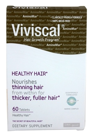 DROPPED: Viviscal - Healthy Hair From Within Marine Enriched Tabs With Grape Seed Extract - 60 Tablets