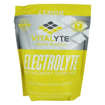 Vitalyte - Electrolyte Replacement Drink Mix Lemon - 80 Servings - 35 oz.