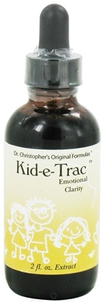 DROPPED: Dr. Christopher's Original Formulas - Kid-e-Trac Emotional Clarity Extract - 2 oz.