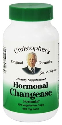 Dr. Christopher's Original Formulas - Hormonal Changease Formula 450 mg. - 100 Vegetarian Capsules