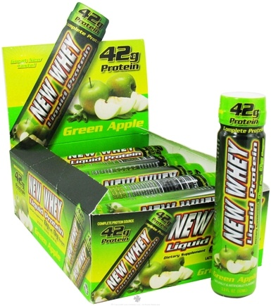 DROPPED: New Whey - New Whey Liquid Protein 42g Green Apple - 3.8 oz.