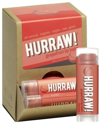 DROPPED: Hurraw Balm LLC - Lip Balm Grapefruit - 0.15 oz.