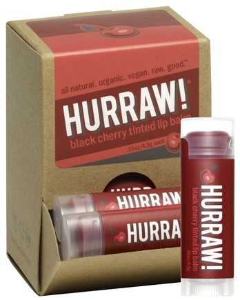 DROPPED: Hurraw Balm LLC - Lip Balm Black Cherry Tinted - 0.15 oz. CLEARANCE PRICED