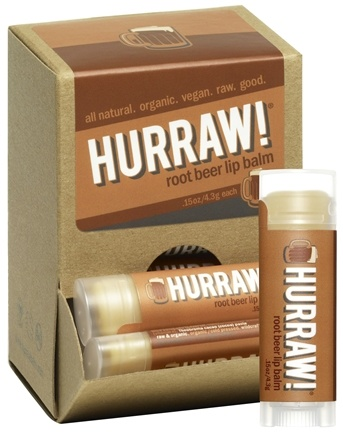 DROPPED: Hurraw Balm LLC - Lip Balm Root Beer - 0.15 oz. CLEARANCE PRICED