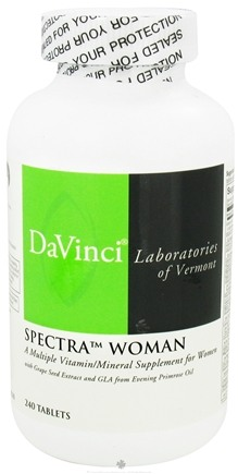 DROPPED: DaVinci Laboratories - Spectra Woman - 240 Tablets