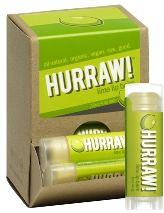 DROPPED: Hurraw Balm LLC - Lip Balm Lime - 0.15 oz. CLEARANCE PRICED