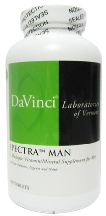 DROPPED: DaVinci Laboratories - Spectra Man - 240 Tablets CLEARANCE PRICED