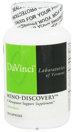 DROPPED: DaVinci Laboratories - Meno-Discovery - 120 Vegetarian Capsules CLEARANCE PRICED
