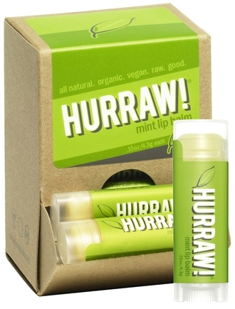 DROPPED: Hurraw Balm LLC - Lip Balm Mint - 0.15 oz. CLEARANCE PRICED