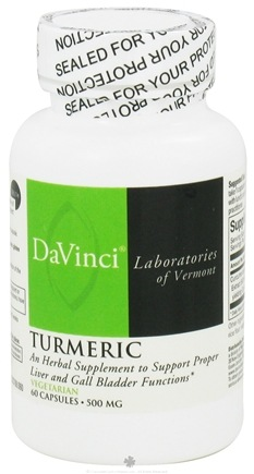 DROPPED: DaVinci Laboratories - Turmeric - 60 Vegetarian Capsules CLEARANCE PRICED