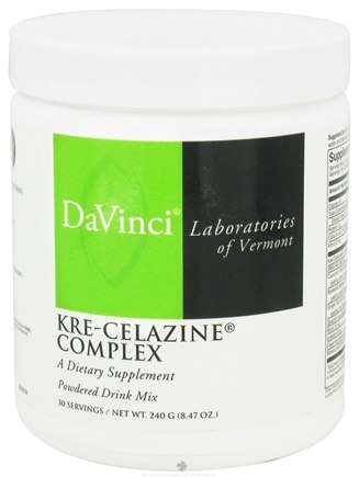 DROPPED: DaVinci Laboratories - Kre-Celazine Complex Powder - 240 Grams