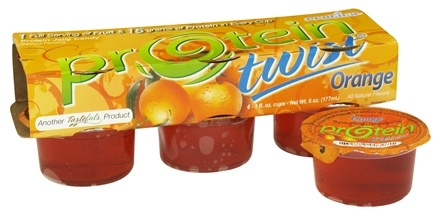 DROPPED: Protica Nutritional Research - Protein Twist Jelly Candy Orange - 1 oz.