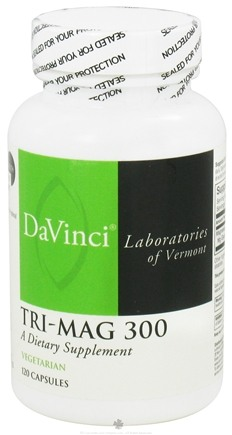 DROPPED: DaVinci Laboratories - Tri-Mag 300 mg. - 120 Vegetarian Capsules