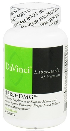 DROPPED: DaVinci Laboratories - Fibro-DMG - 90 Vegetarian Tablets CLEARANCE PRICED