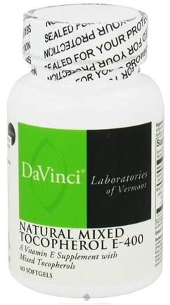 DROPPED: DaVinci Laboratories - Vitamin E Natural Mixed Tocopherols 400 IU - 60 Softgels