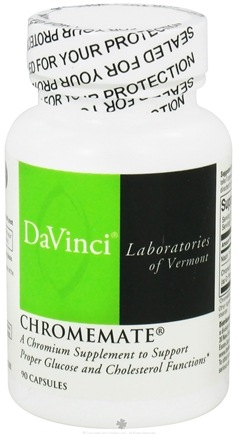 DROPPED: DaVinci Laboratories - Chromemate - 90 Capsules CLEARANCE PRICED