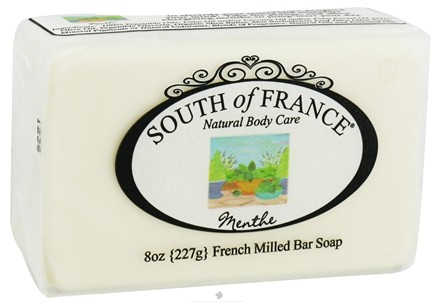 DROPPED: South of France - French Milled Vegetable Bar Soap Menthe - 8 oz.