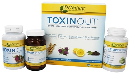 DrNatura - Toxinout Broad-Spectrum Detoxification 30 Day Program