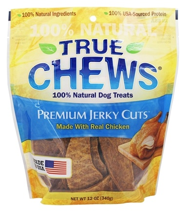 DROPPED: True Chews - Chicken Jerky Fillets Dog Treats - 12 oz.