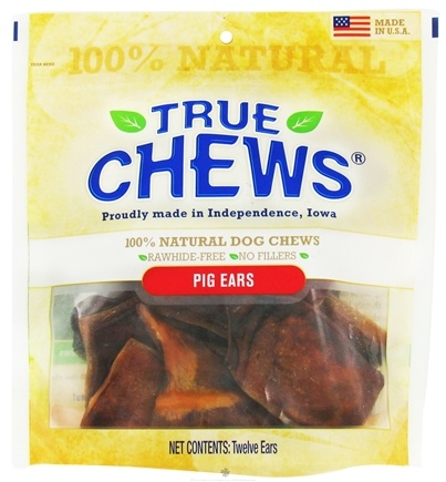 DROPPED: True Chews - Pig Ears Natural Dog Chews - 12 Piece(s)