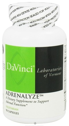 DROPPED: DaVinci Laboratories - AdrenaLyze - 90 Vegetarian Capsules CLEARANCE PRICED