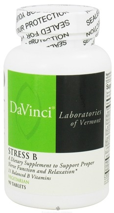 DROPPED: DaVinci Laboratories - Stress B - 90 Vegetarian Tablets CLEARANCE PRICED