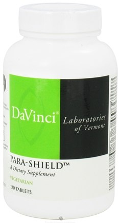 DROPPED: DaVinci Laboratories - Para-Shield - 120 Vegetarian Tablets CLEARANCE PRICED