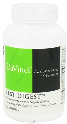 DROPPED: DaVinci Laboratories - Best Digest - 120 Capsules CLEARANCE PRICED