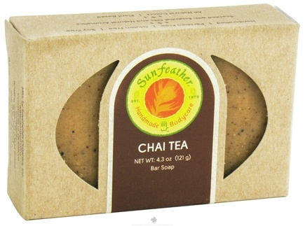 DROPPED: Sunfeather - Bar Soap Chai Tea - 4.3 oz. CLEARANCE PRICED