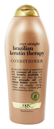 Organix - Conditioner Ever Straight Brazilian Keratin Therapy - 25.4 oz.