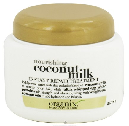 DROPPED: Organix - Instant Repair Treatment Nourishing Coconut Milk - 8 oz.