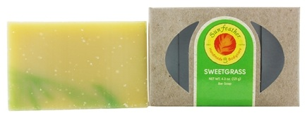 Sunfeather - Bar Soap Sweetgrass - 4.3 oz.