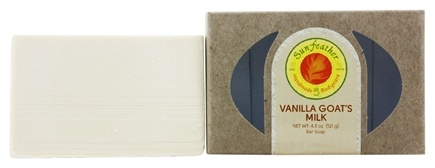 Sunfeather - Bar Soap Vanilla Goat's Milk - 4.3 oz.