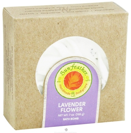 DROPPED: Sunfeather - Bath Bomb Lavender Flower - 7 oz.