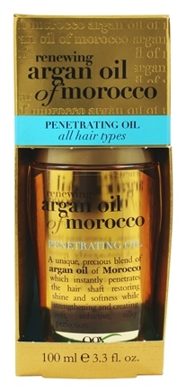 Organix - Penetrating Oil For All Hair Types Renewing Moroccan Argan Oil - 3.3 oz.