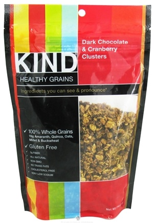 DROPPED: Kind Bar - Healthy Grains Dark Chocolate & Cranberry Clusters - 11 oz.