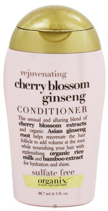 DROPPED: Organix - Conditioner Rejuvenating Cherry Blossom Ginseng - 3 oz.