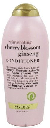 DROPPED: Organix - Conditioner Rejuvenating Cherry Blossom Ginseng - 25.4 oz.