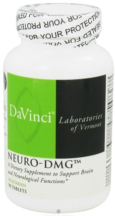 DROPPED: DaVinci Laboratories - Neuro-DMG - 90 Vegetarian Tablets CLEARANCE PRICED