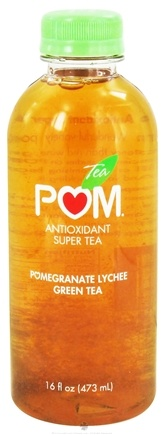 DROPPED: Pom Wonderful - POM Antioxidant Super Tea Pomegranate Lychee Green Tea - 16 oz.