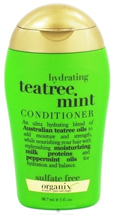 DROPPED: Organix - Conditioner Hydrating Tea Tree Mint - 3 oz. CLEARANCE PRICED