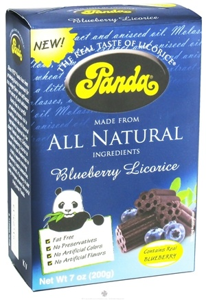 DROPPED: Panda - Licorice Soft Chews Blueberry - 7 oz.