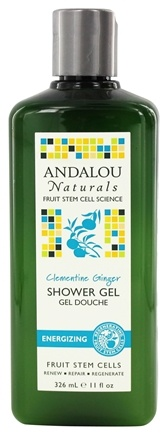 DROPPED: Andalou Naturals - Shower Gel Energizing Clementine Ginger - 11 oz.