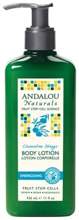 DROPPED: Andalou Naturals - Body Lotion Energizing Clementine Ginger - 11 oz.