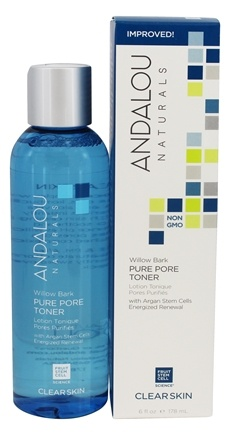 Andalou Naturals - Pore Minimizer Clarifying Aloe + Willow Bark - 6 oz.