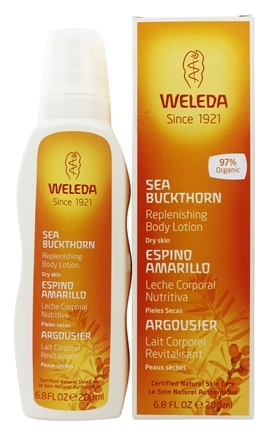 Weleda - Body Lotion Replenishing Sea Buckthorn - 6.8 oz.